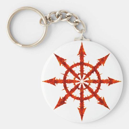 Chaos Symbol Keychain
