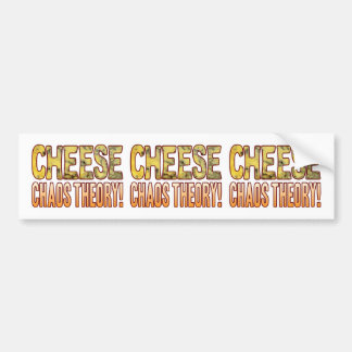 Chaos Theory Blue Cheese Bumper Sticker