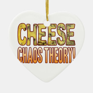 Chaos Theory Blue Cheese Ceramic Ornament