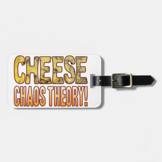 Chaos Theory Blue Cheese Luggage Tag