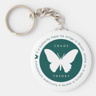 Chaos Theory (Green) Keyring Keychain