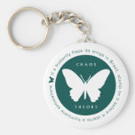 Chaos Theory (Green) Keyring Keychains