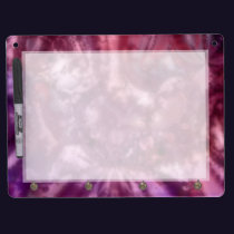 Chaos Tie-Dyed Dry Erase Board