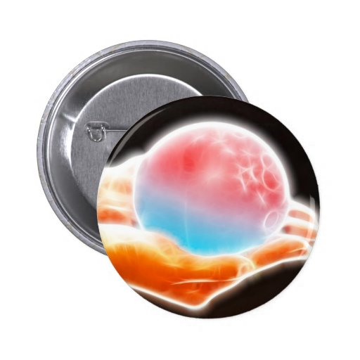 ChaosBall Gear 2 Inch Round Button