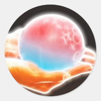 ChaosBall Gear Classic Round Sticker