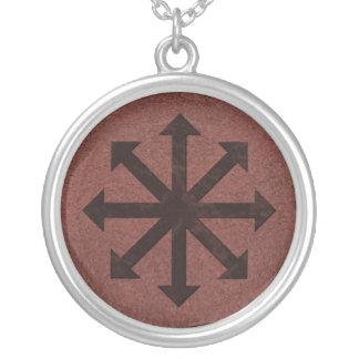 Chaosphere - símbolo oculto de Magick en el cuero  Joyería