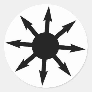 Chaosphere Classic Round Sticker