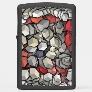 Chaotic 3D Cubes Zippo Lighter