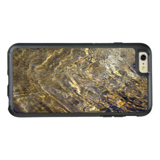 Chaotic Abstract Golden Fountain Water OtterBox iPhone 6/6s Plus Case