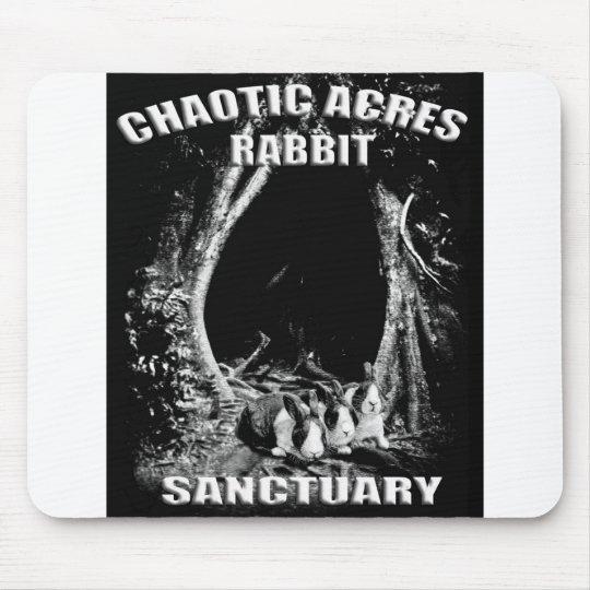 Chaotic Acres Rabbit Sanctuary Mouse Pad