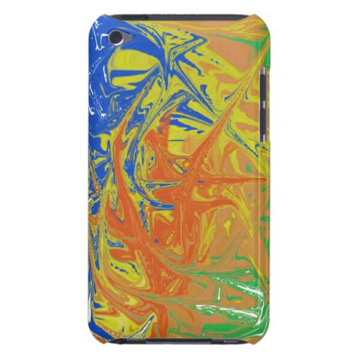 Chaotic and ugly pattern iPod touch covers