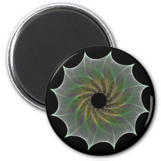 chaotic attraction 2 inch round magnet