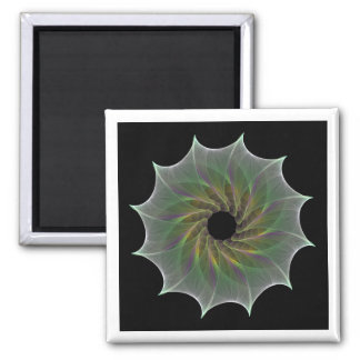 chaotic attraction 2 inch square magnet