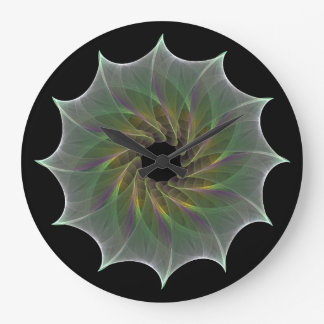 Chaotic Attraction Fractal clock