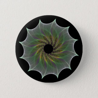 chaotic attraction pinback button