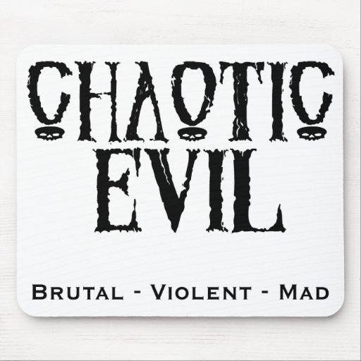 """""""Chaotic Evil"""" Mousepads"""