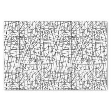 adamfahey Chaotic lines tissue paper