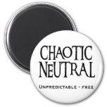 """Chaotic Neutral"" Fridge Magnets"