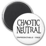 """Chaotic Neutral"" Fridge Magnets"