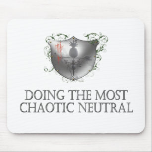 Chaotic Neutral Alignment Gifts On Zazzle