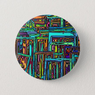 Chaotic Picture Frames Pinback Button