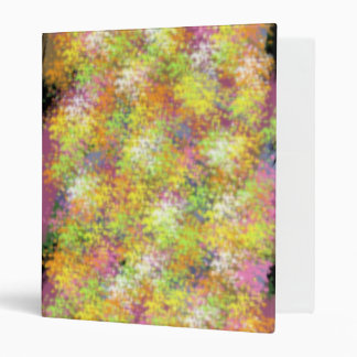 Chaotic Soul Abstract Digital Art Binder