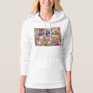 Chaotic Spots of Paint Hoodie