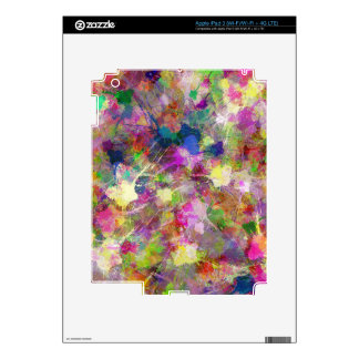 Chaotic Spots of Paint iPad 3 Decal