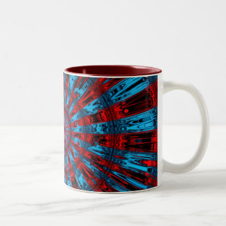 Chaotic Star Project - Take 5 Two-Tone Coffee Mug