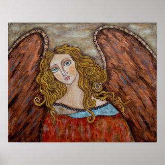 Chaourum - ángel - poster