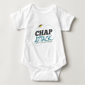 Chap Attack with Fishing Lure - Brent Chapman Baby Bodysuit