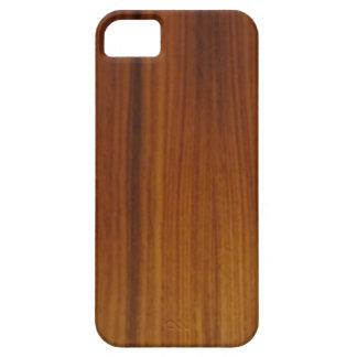 chapa de madera funda para iPhone 5 barely there