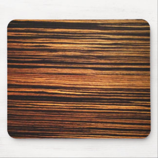 Chapa de madera oscura alfombrilla de ratón