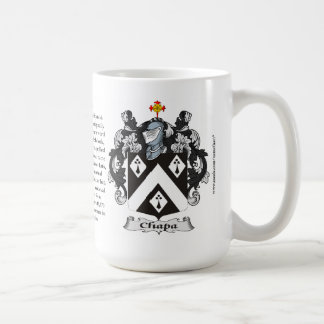 Chapa, the Origin, the Meaning and the Crest Mug