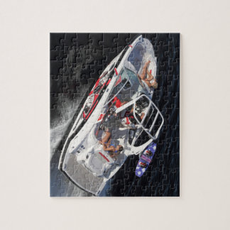 Chaparral Boats Wakeboarding Boat Jigsaw Puzzle