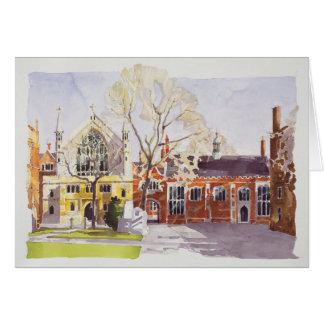 Chapel and Hall Lincoln's Inn Card