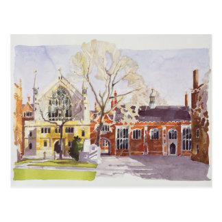 Chapel and Hall Lincoln's Inn Postcard