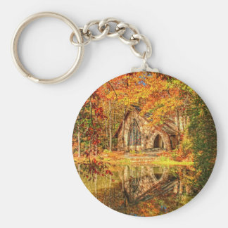 Chapel at Callaway Basic Round Button Keychain