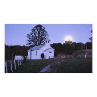 Chapel at Judy Gap, West Virginia Poster