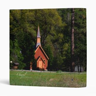 Chapel at Yosemite Binder