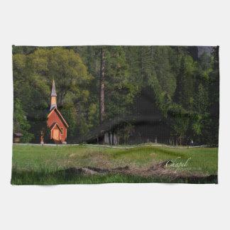 Chapel at Yosemite Towels