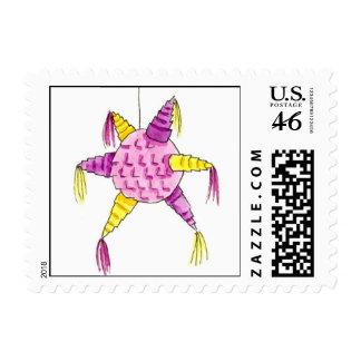 Chapel Birthday Pinata Stamp