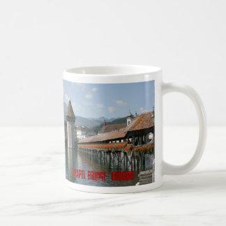 Chapel Bridge, Lucerne, Switzerland Coffee Mug