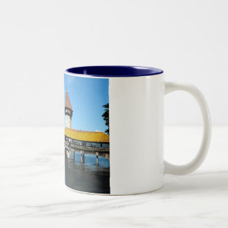 Chapel Bridge, Lucerne, Switzerland Mugs