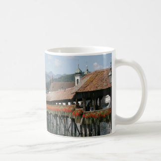Chapel Bridge, Lucerne, Switzerland Coffee Mugs