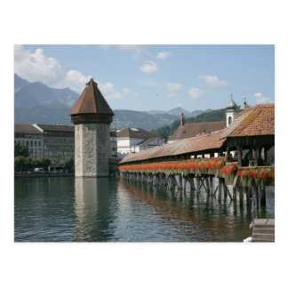 Chapel Bridge, Lucerne, Switzerland Postcards