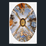 """Chapel Ceiling Wall Decal<br><div class=""""desc"""">There are so many creative uses in your home for this wall decal featuring Agnolo Bronzino&#39;s famous Ceiling of the Chapel of Eleonora of Toledo. Perfect for placing on your ceiling!</div>"""