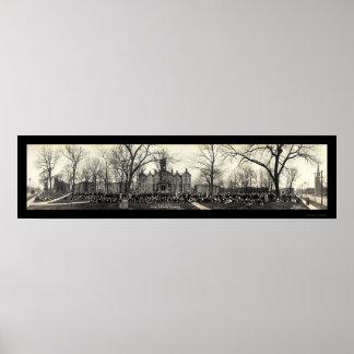Chapel Des Moines IA Photo 1911 Posters