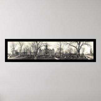Chapel Drake University Photo 1911 Print