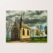 Chapel Eifel Germany. Jigsaw Puzzle